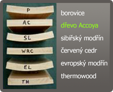 Accoya - Advantages of dimensional stability
