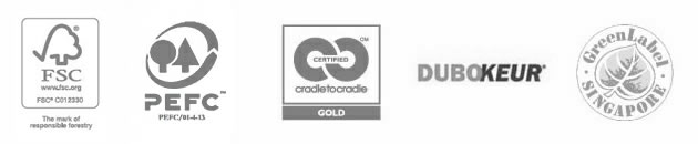 Accoya - Accreditations Graphic