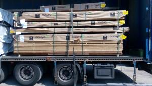 Nová zásilka dřeva Accoya® na skladě.