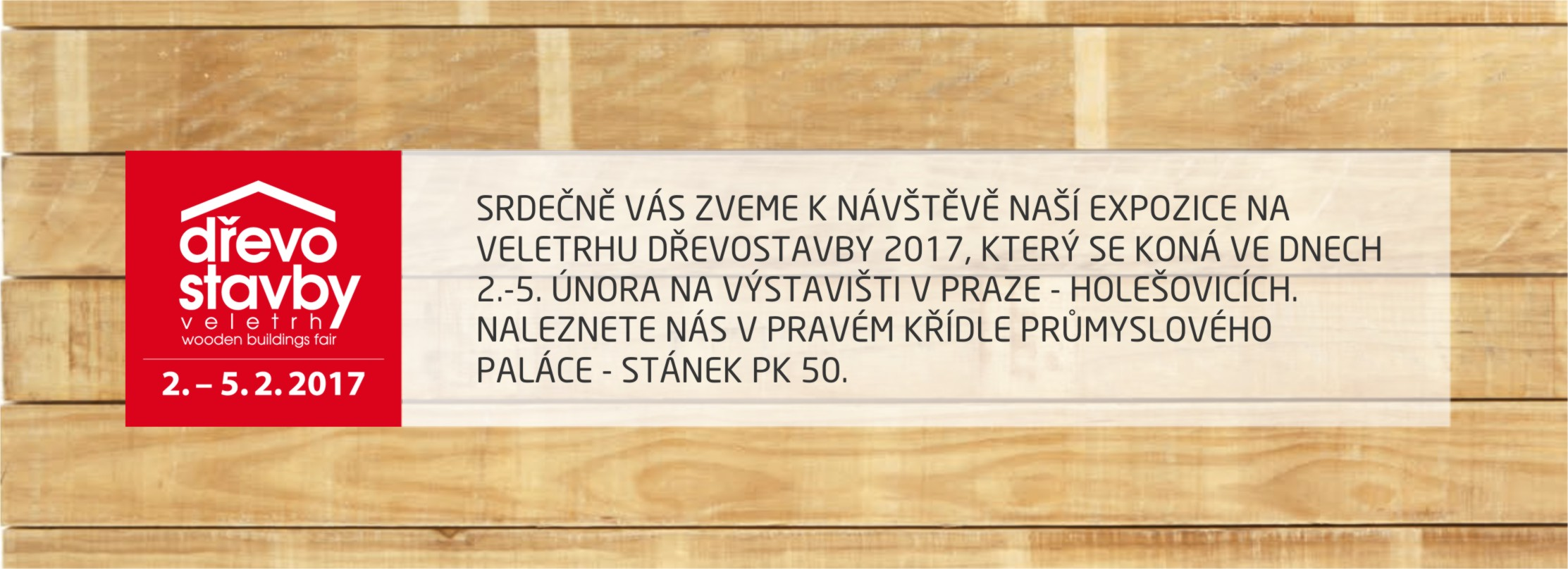Banner Dřevostavby 2017 ACCOYA